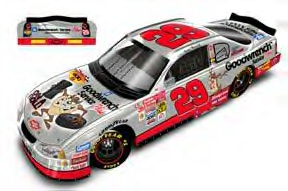 Action 2001 Kevin Harvick GM Goodwrench Service Plus Looney Toons Taz diecast