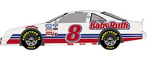 Action 1990 Jeff Burton Baby Ruth diecast