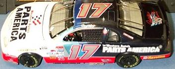 Action 1997 Darrell Waltrip Parts America (Elite) diecast