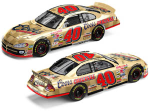 Action 2002 Sterling Marlin Original Coors (Gold) Dodge Intrepid diecast