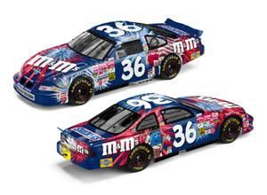 Action 2002 Ken Schrader M&Ms 4th of July Pontiac Grand Prix diecast