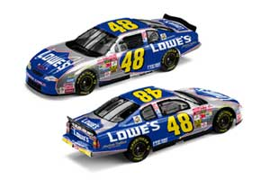 Team Caliber 1/24 2002 Jimmie Johnson Lowes Monte Carlo (Owners Series)