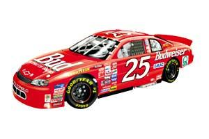 Action 1999 Wally Dallenbach Budweiser C/W Bank diecast
