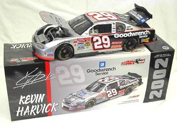 Action 2002 Kevin Harvick GM Goodwrench Monte Carlo diecast