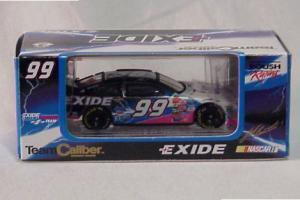 Team Caliber 2000 Jeff Burton Exide Taurus (Owners in display case) diecast