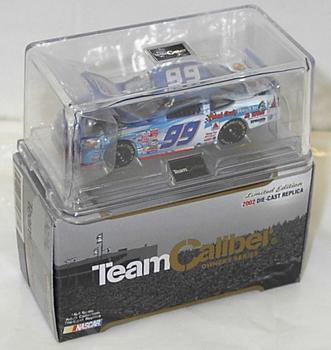 Team Caliber 2002 Jeff Burton Citgo Peel Out and Win (Owners in display case) diecast