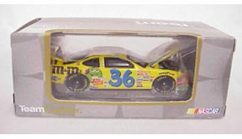 Team Caliber 1/64 2002 Ken Schrader M&Ms (Owners in display case)