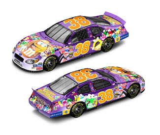Action 2005 Elliott Sadler M&Ms Halloween Ford Taurus diecast