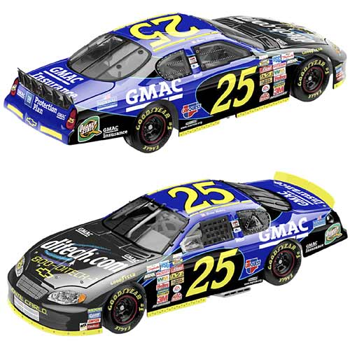 Team Caliber 2004 Brian Vickers GMAC Chevy Monte Carlo (Preferred Series) diecast