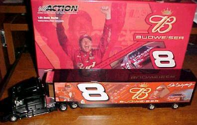 Action 1/64 2004 Dale Earnhardt Jr Budweiser Hauler