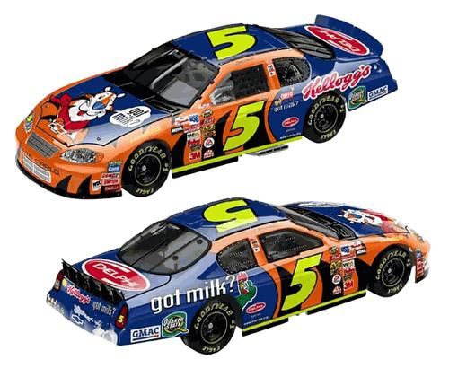 Action 2004 Terry Labonte Kelloggs Got Milk Chevy Monte Carlo H/O Club Car diecast