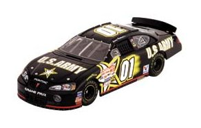 Action 2003 Jerry Nadeau Army Pontiac Grand Prix H/O-T/O diecast