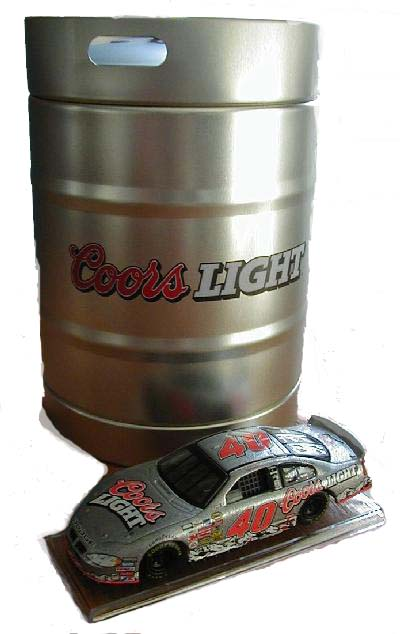 Action 2004 Sterling Marlin Coors Lite Dodge Intrepid in Beer Keg diecast