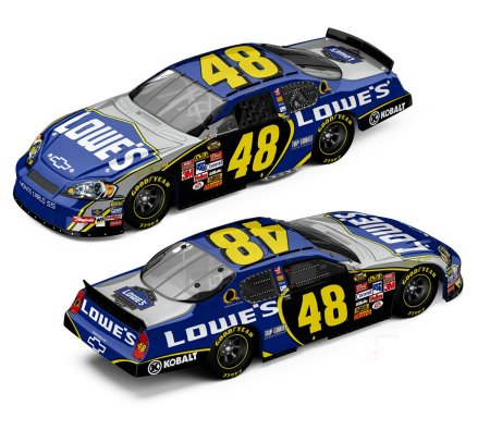 jimmie johnson 48 car. Jimmie Johnson Lowes Chevy