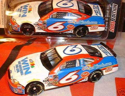 Team Caliber 2005 Mark Martin Kraft Win Groceries Ford Taurus (Pit Stop Series) diecast
