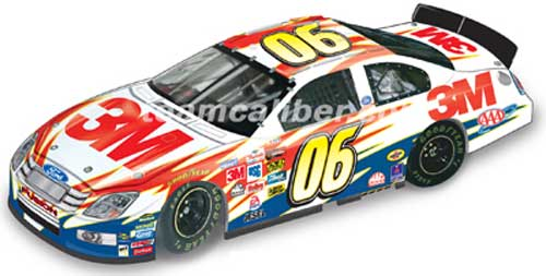 Team Caliber 2006 Todd Kluever 3M 2006 Ford Fusion (Pit Stop Series) diecast