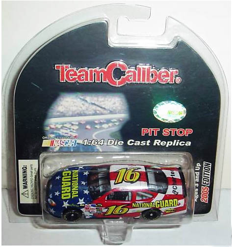 Team Caliber 2005 Greg Biffle National Guard Ford Taurus (Pit Stop Series) diecast