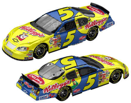 Team Caliber 2005 Kyle Busch Kelloggs Chevy Monte Carlo (Pit Stop Series) diecast