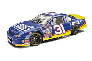 Action 2000 Mike Skinner Lowes diecast
