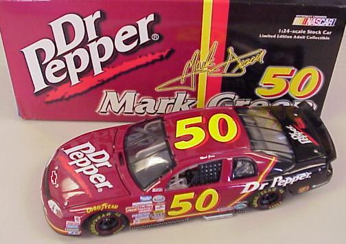 Action 1999 Mark Green Dr Pepper diecast