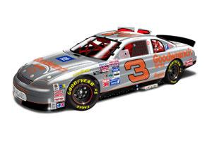 Action 1995 Dale Earnhardt Silver Select diecast