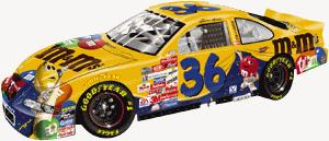 Action 1/64 1999 Ernie Irvan M&Ms Countdown to the Millennium