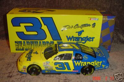 Action 1997 Dale Earnhardt Jr. Wrangler diecast