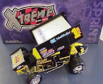 Action 1999 Johnny Herrera Xtreme Burger King Sprint Car diecast
