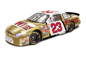 Revell 1999 Jimmy Spencer Winston Gold diecast
