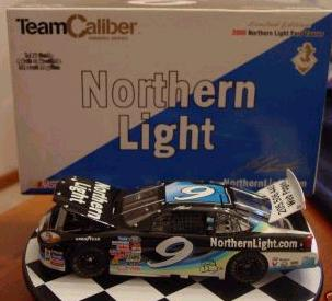 Team Caliber 2000 Jeff Burton Northern Lights (Owners) diecast