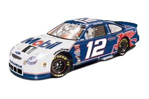 Team Caliber 1999 Jeremy Mayfield Mobil 1 Blue Bank (1 of 1200) diecast